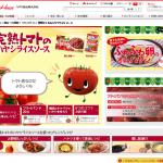 完熟トマトのハヤシライスソース  ブランドサイト  ハウス食品