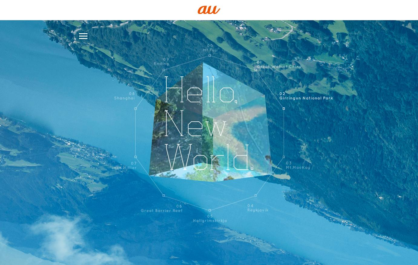 Hello, New World.  au