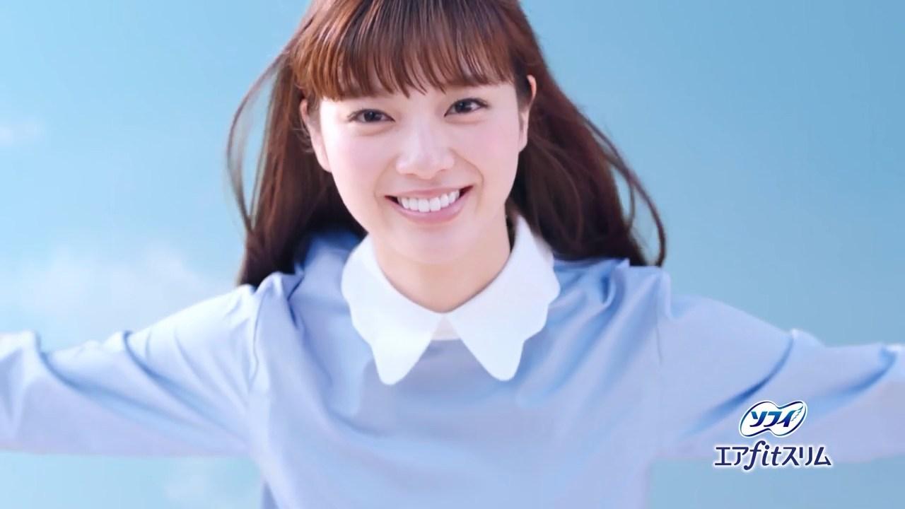 笑顔が可愛すぎる新川優愛