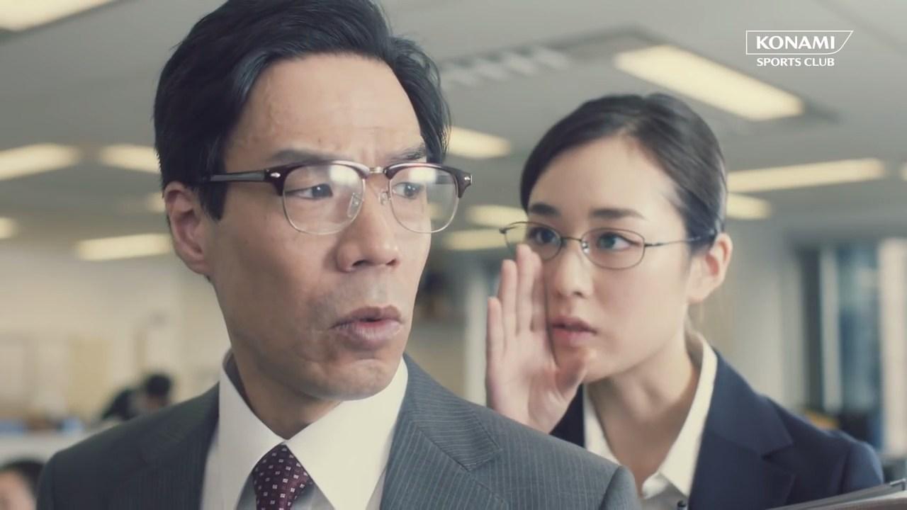 「オフィスで体操」篇(30秒)
