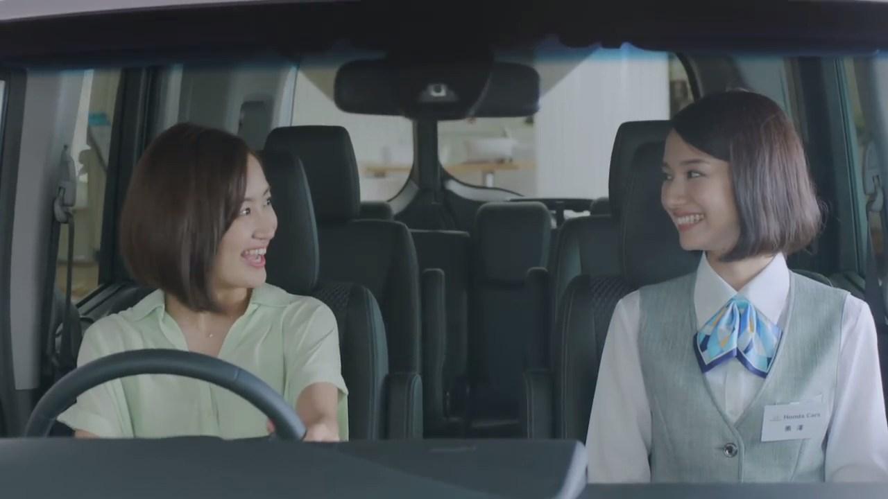 Honda Cars 関東「後ろから」篇 黒澤はるか 麻生夏子