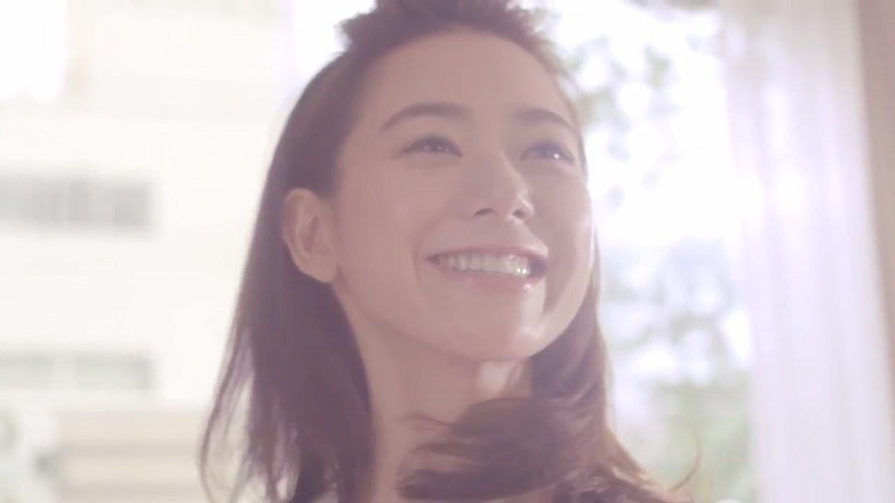 サニクリーンテレビCM「笑顔の秘密 モップ編」西村みえこ