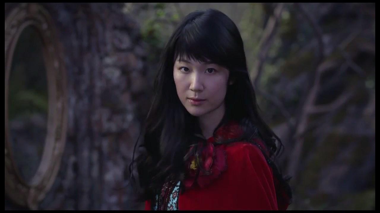 TSUBAKI 「赤いずきんの女」篇 30秒|資生堂