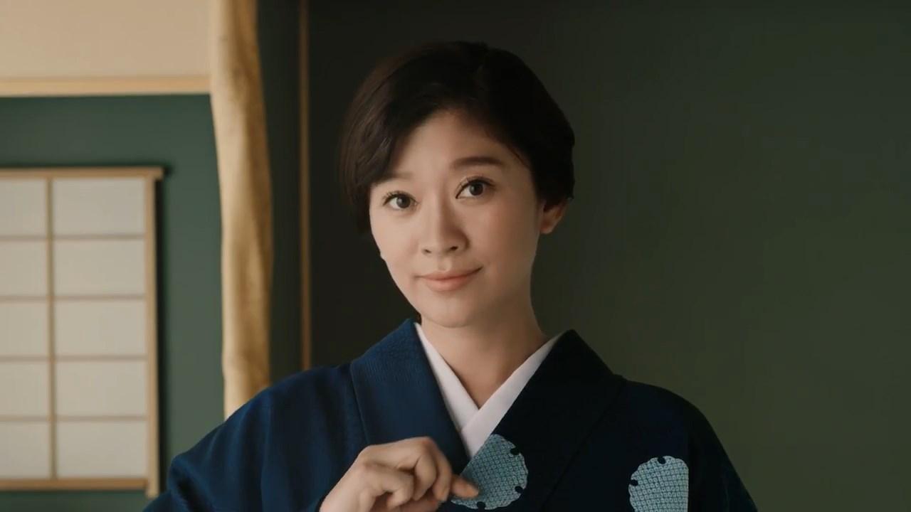 篠原涼子 日本和装 CM「ふつうの日を、特別な日に」篇