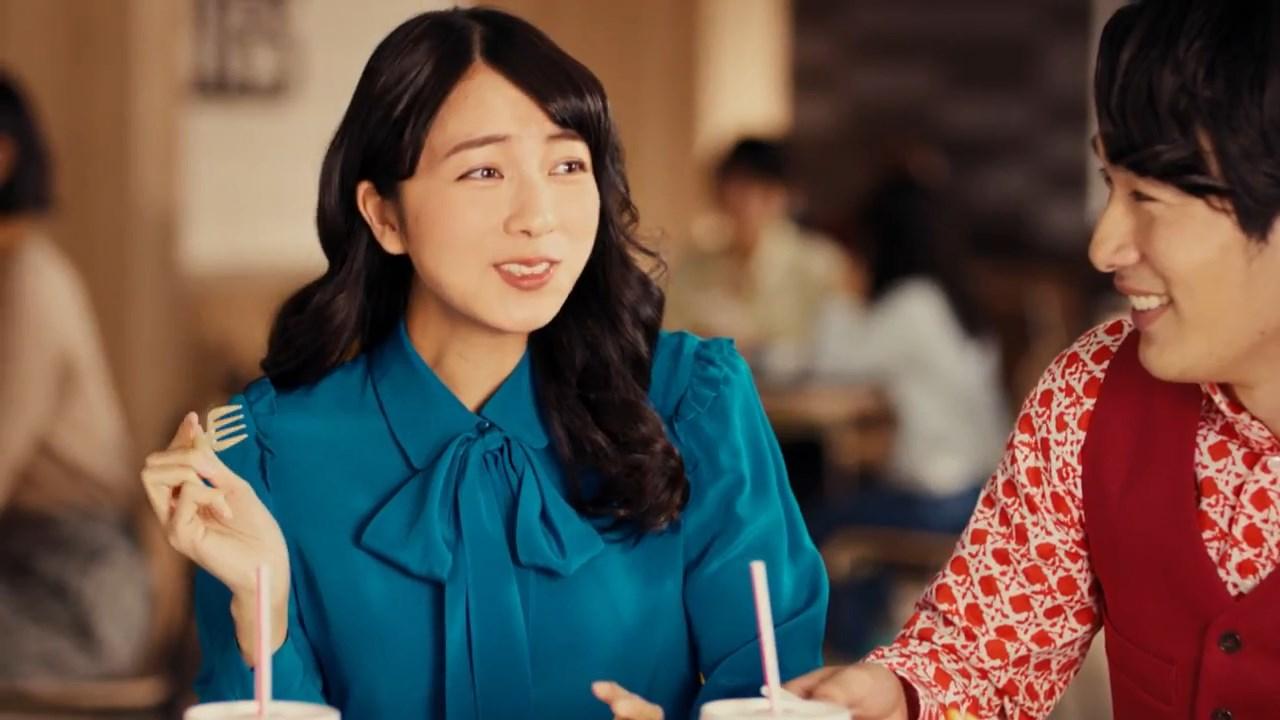 小島梨里杏 カケテミーヨ 「チーズボロネーゼをカケテミーヨ」篇