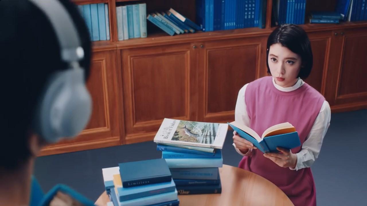 三吉彩花 スポティファイ #今のサントラ 青春の図書館