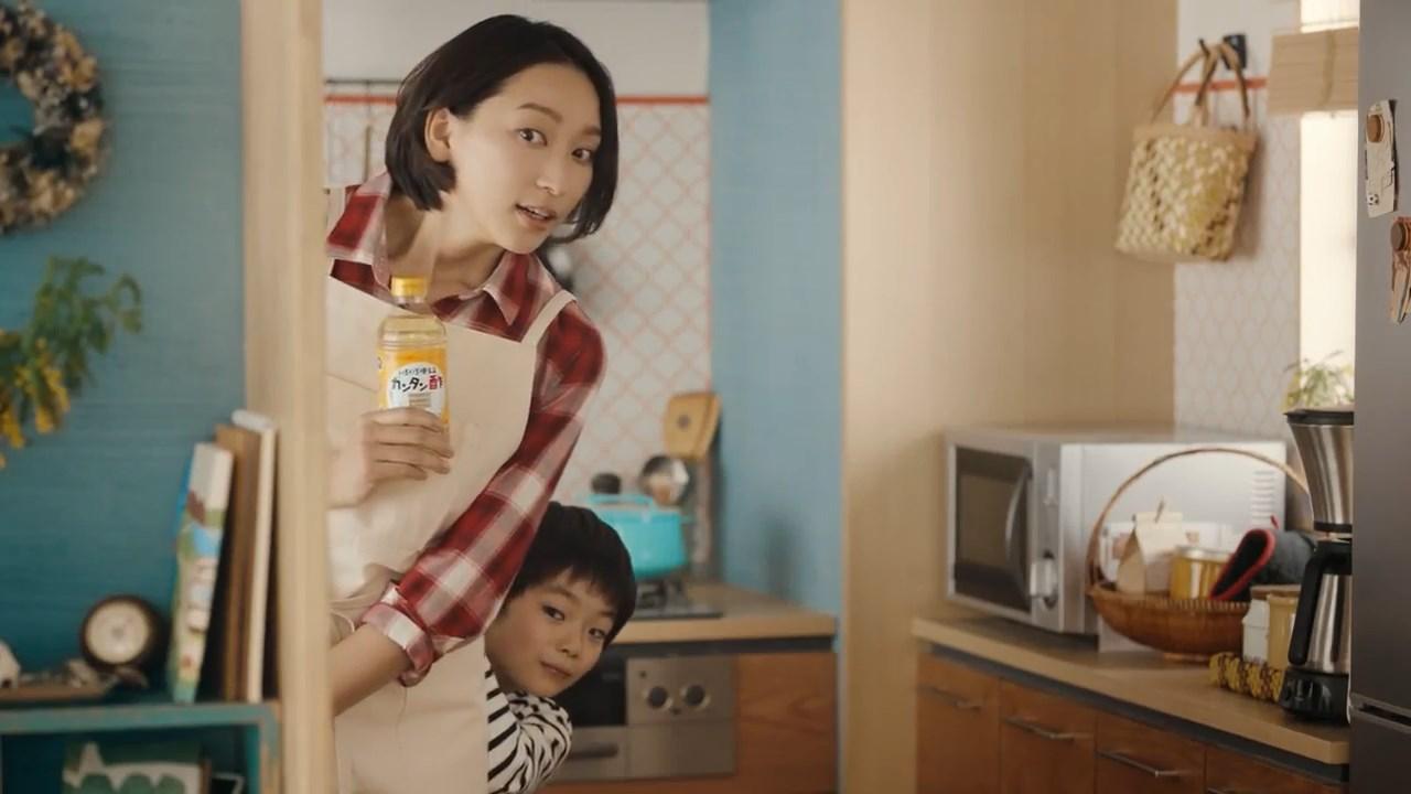杏 カンタン酢「わが家の食いしん坊たちへ」篇 ミツカン