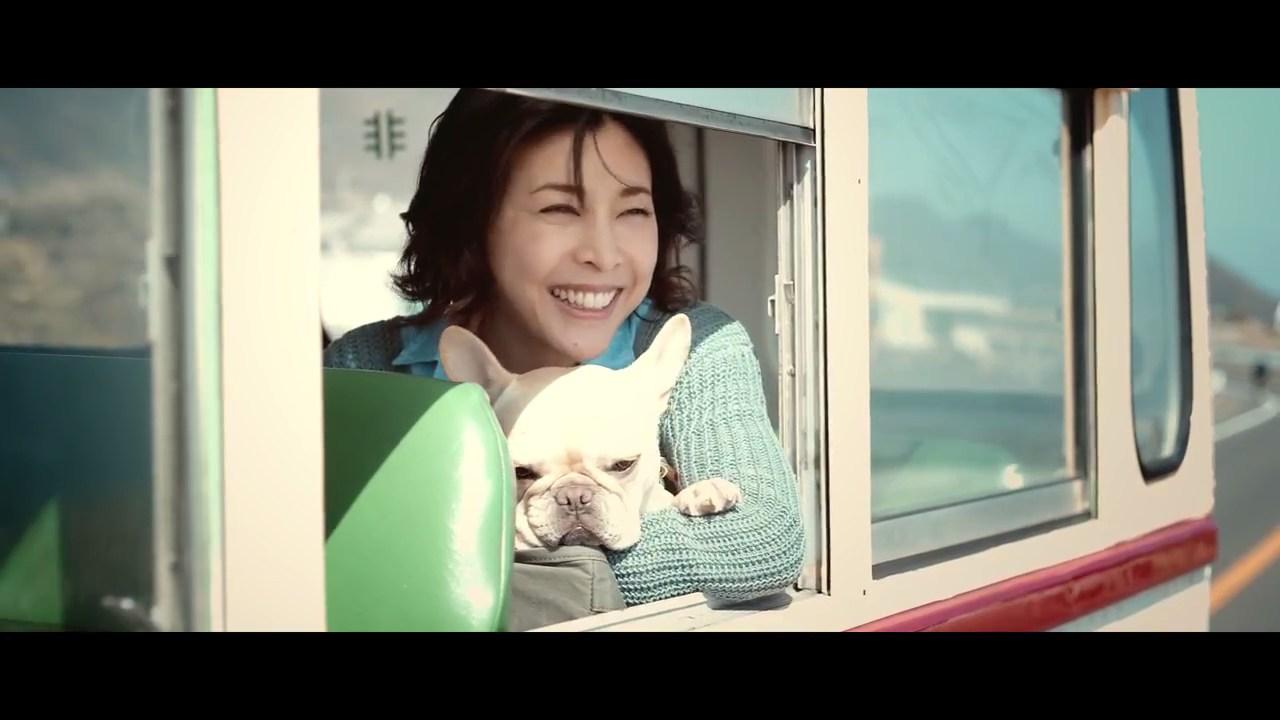 EOS Kiss M「Kiss is my life.」篇(30秒)竹内結子・クルミちゃん