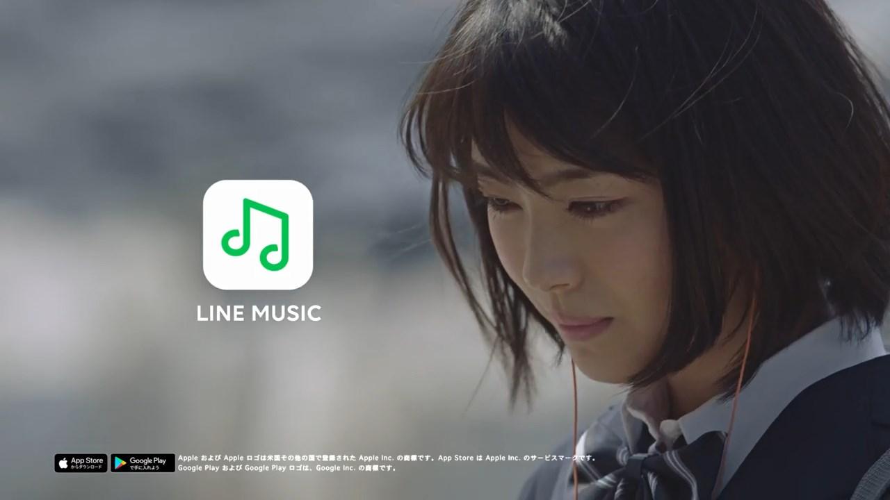 LINE MUSIC 浜辺美波 「歌う篇」