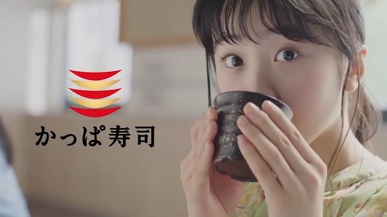 本田望結 かっぱ寿司 CM 「かっぱのお寿司」