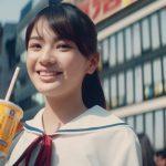 青井乃乃 CM 「マックシェイク 森永ミルクキャラメル 最強コラボ復活」篇