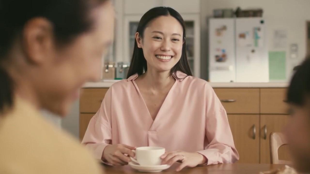 奥山奈々 日東紅茶「母と娘」編