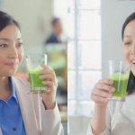 ネスレ ウェルネス アンバサダー 「スマホで健康チェック、始まる」篇 朝倉えりか 竹中友紀子