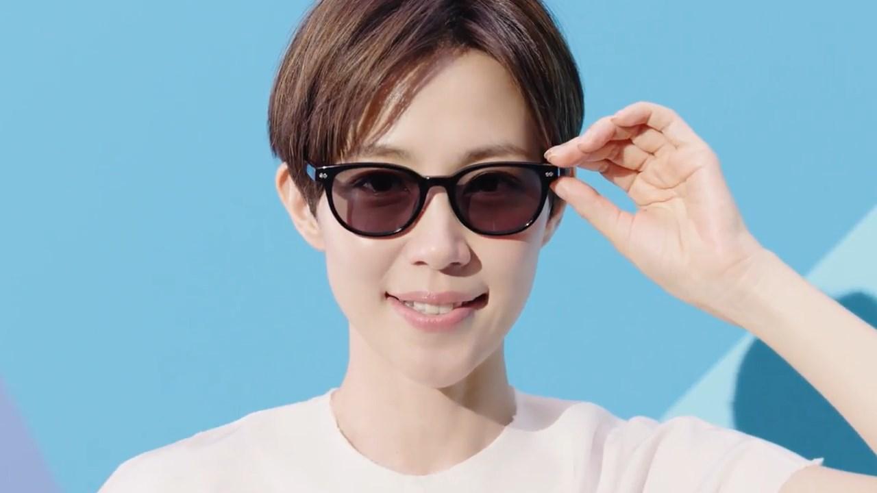 木村佳乃 眼鏡市場 CM 度付サングラス2018篇