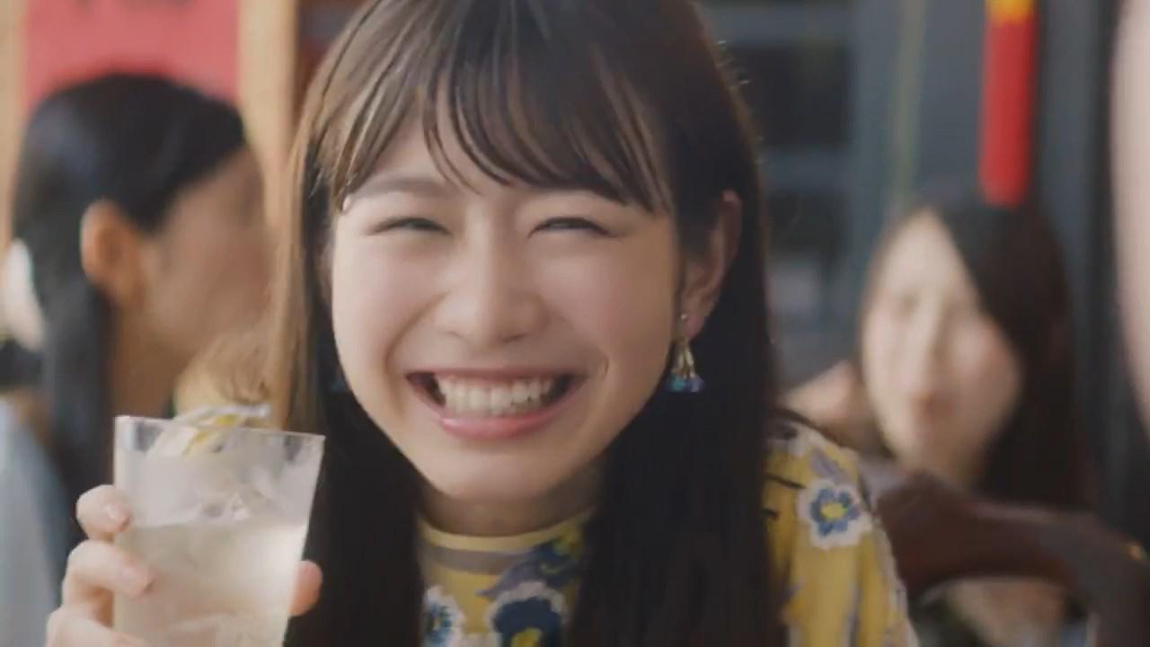 岡本夏美 CM 酔わないウメッシュ「酔わないけれど篇」