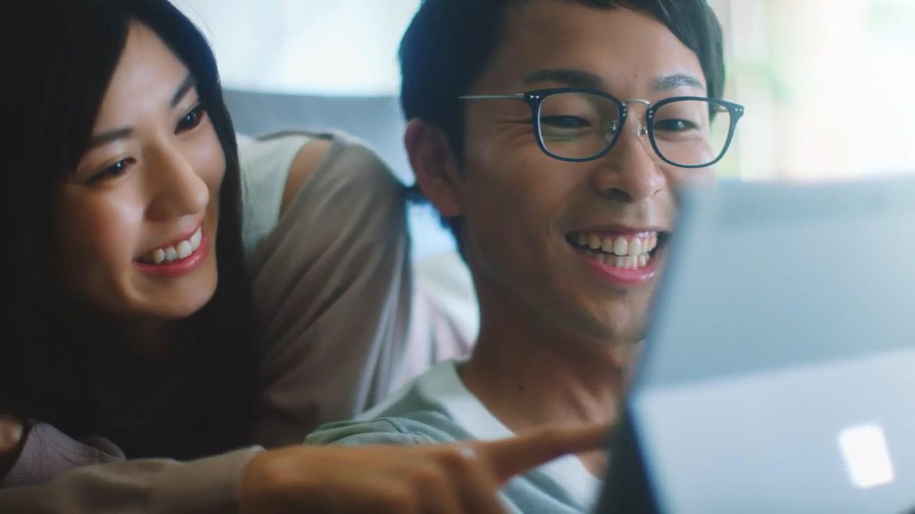 渡辺早織 野村修一 Surface Go もっとできるを、軽がると。
