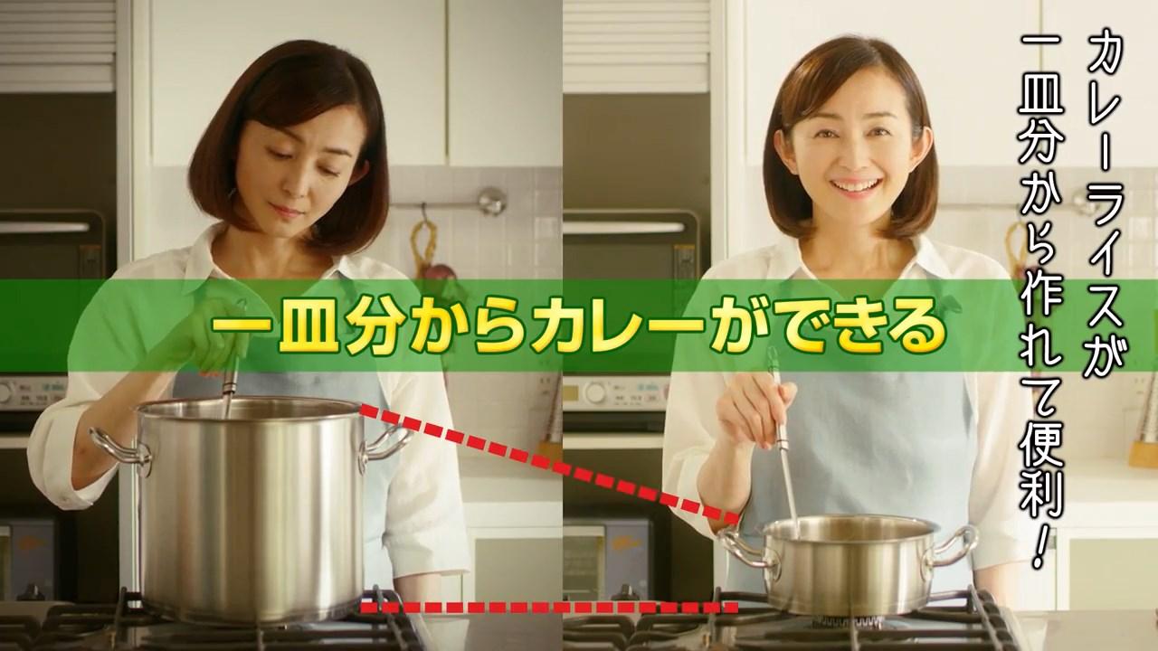 押田恵 CM プレミアム熟カレー「ミスタープレ熟」篇 グリコ