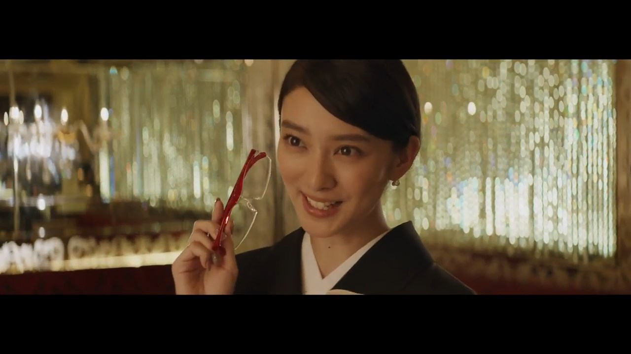 ハズキルーペ CM 武井咲さん・小泉孝太郎さん・舘ひろしさん