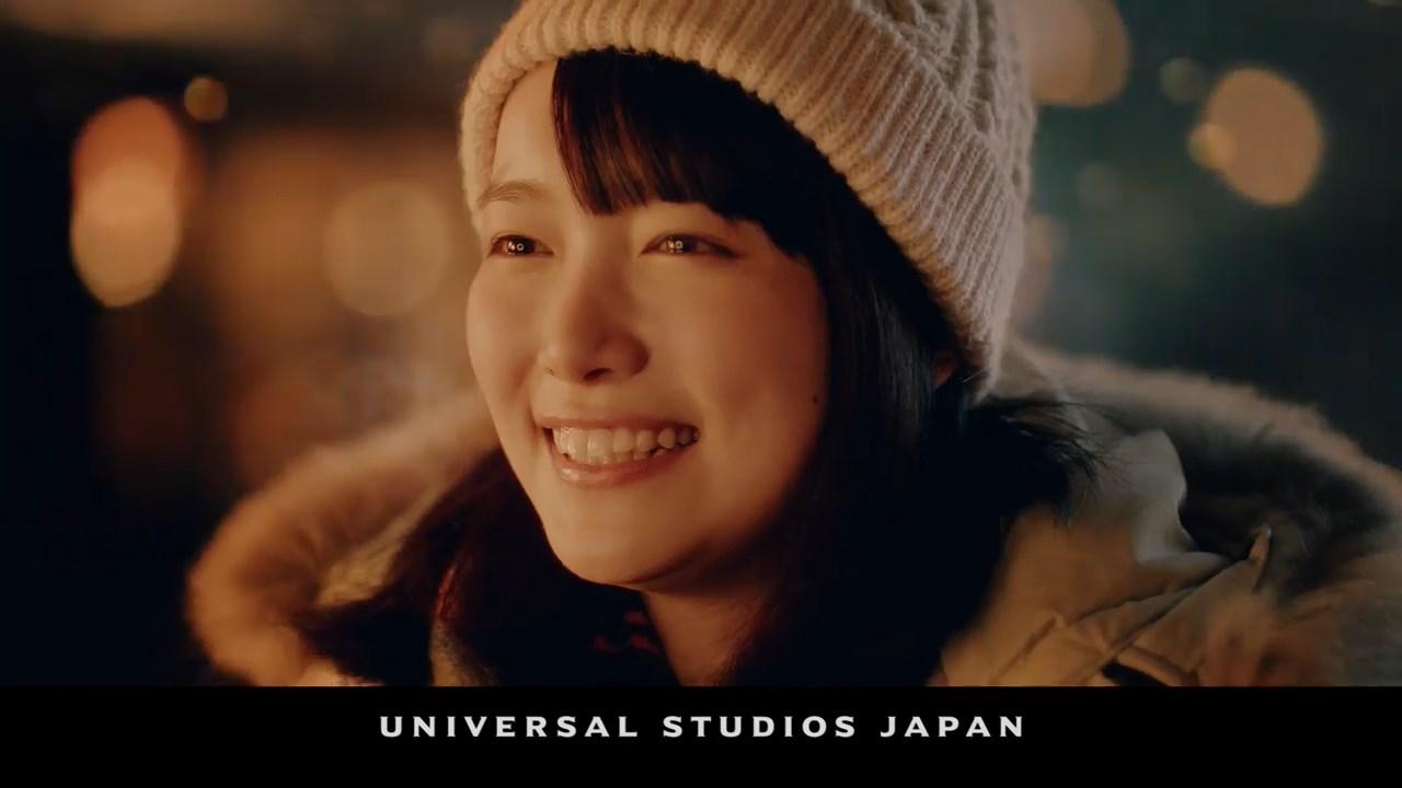 小川紗良 USJ CM ウインター・イン・ザ・ウィザーディング・ワールド・オブ・ハリー・ポッター