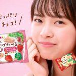 新條由芽 森永製菓 おいしくモグモグたべるチョコ