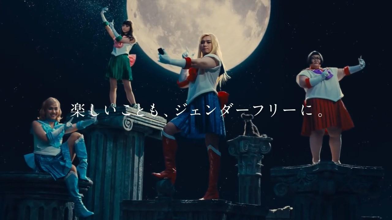 美少女戦士セーラームーンCrystal×モンスト「いいじゃん!全員戦士!」篇