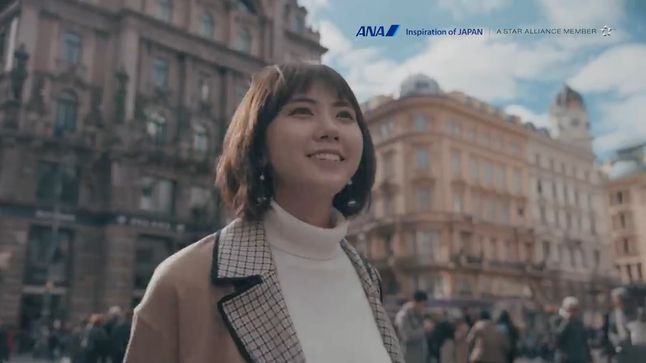 景子 ANA ウィーン線「Wien Visual Trip」
