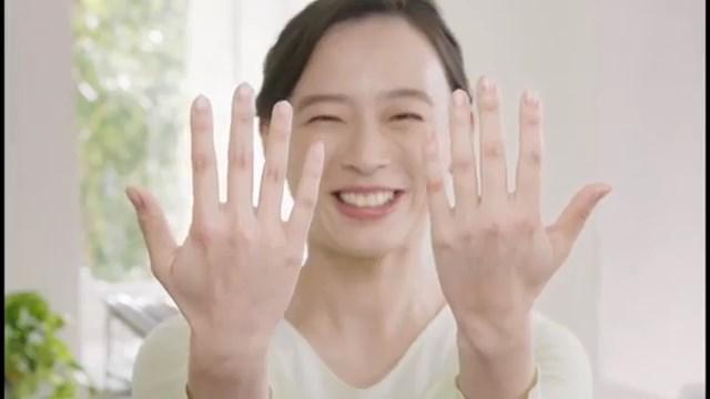 アロエ軟膏 TVCM 「手袋塗り」篇