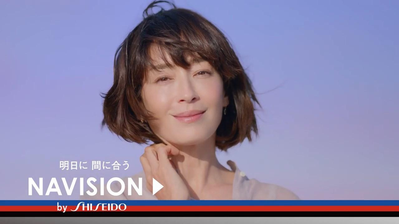 宮沢りえ NAVISION「明日に間に合う 宣言」篇 資生堂