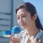 ブリタ ボトル型浄水器「フィルアンドゴー」TVCM 中田絢千
