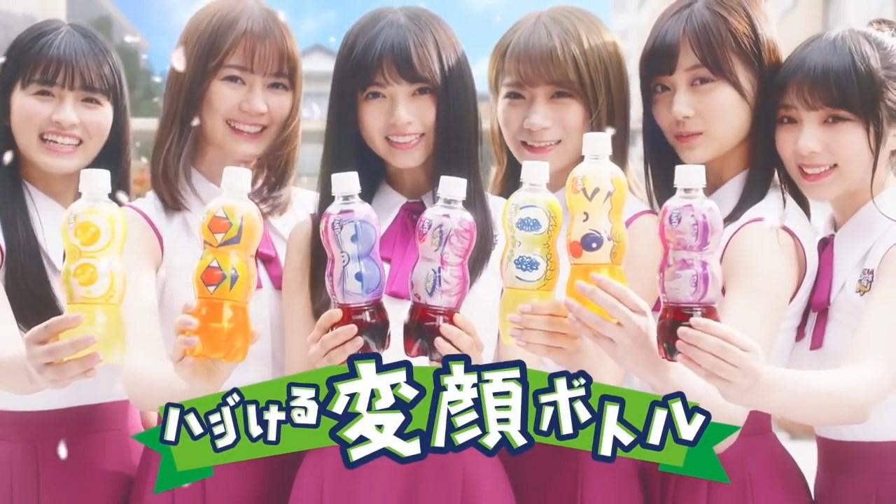 ファンタ 乃木坂46 CM ファンタ坂学園 変顔ボトル篇