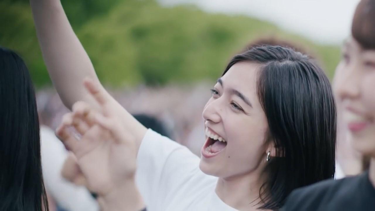 高瀬真奈 ポカリスエット web CM「10-FEET×ポカリスエット 夏の本気 応援ムービー」