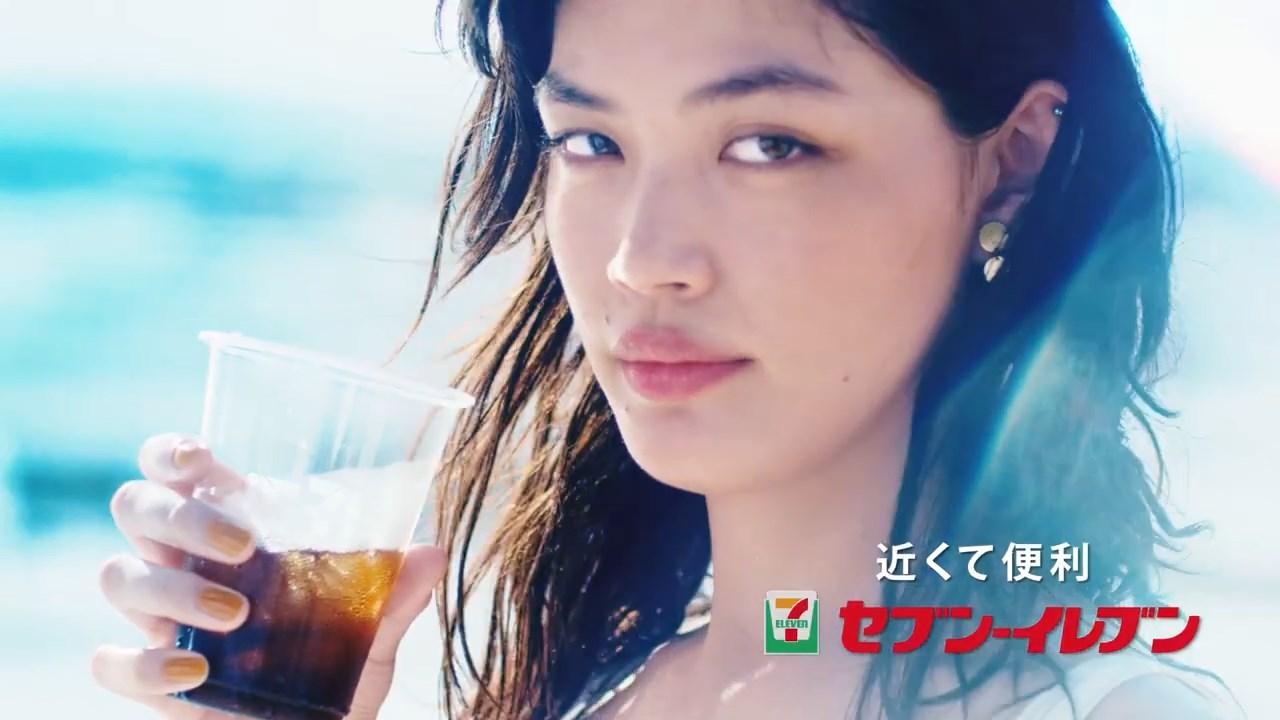福士リナ 近くて便利 新セブンカフェ、新登場!CM