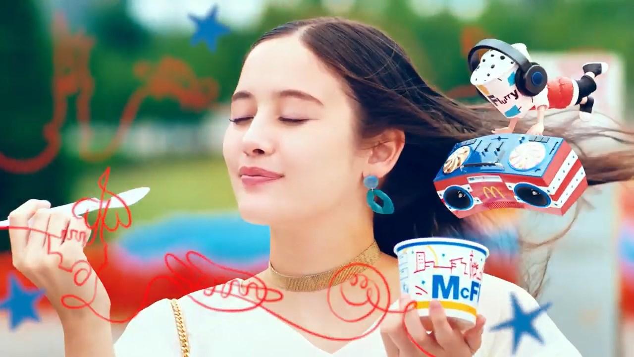 琉花 マックフルーリー ニューヨークチーズケーキ&ダブルチョコファッジ 「食べた瞬間ニューヨーク」篇