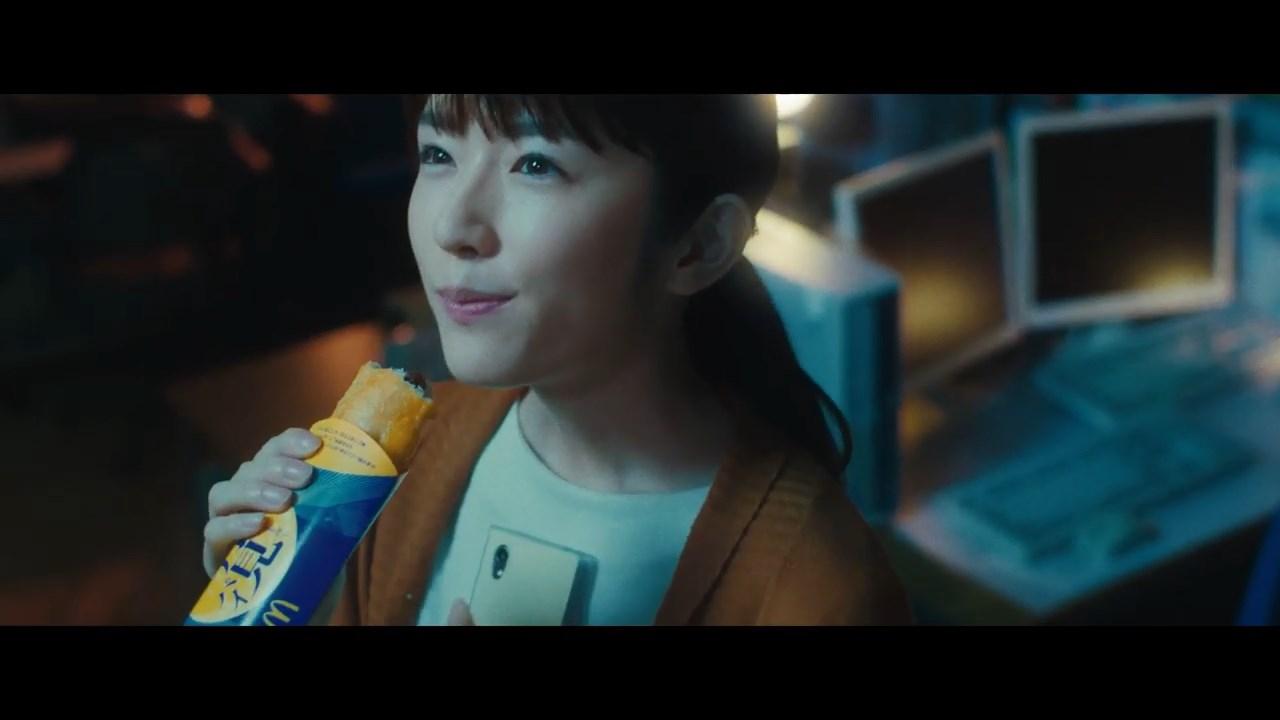 樋口柚子 月見ショートムービー 「月見パイ+月見バーガー」篇