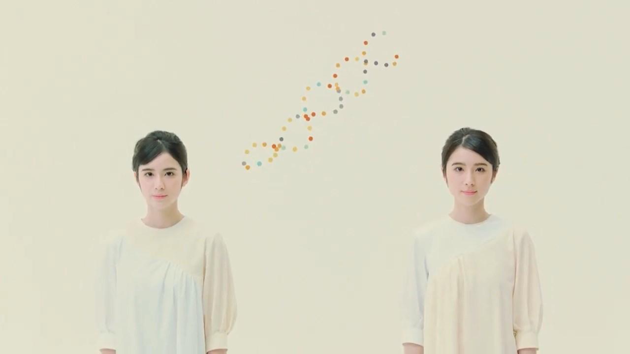 中外製薬 おしえて がんゲノム医療「双子」篇 鈴木みな・まりあ