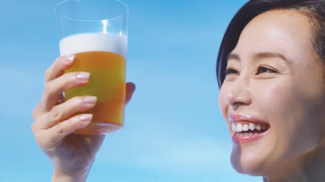 キリン カラダFREE 「お腹まわりの脂肪を減らす」篇 木村佳乃