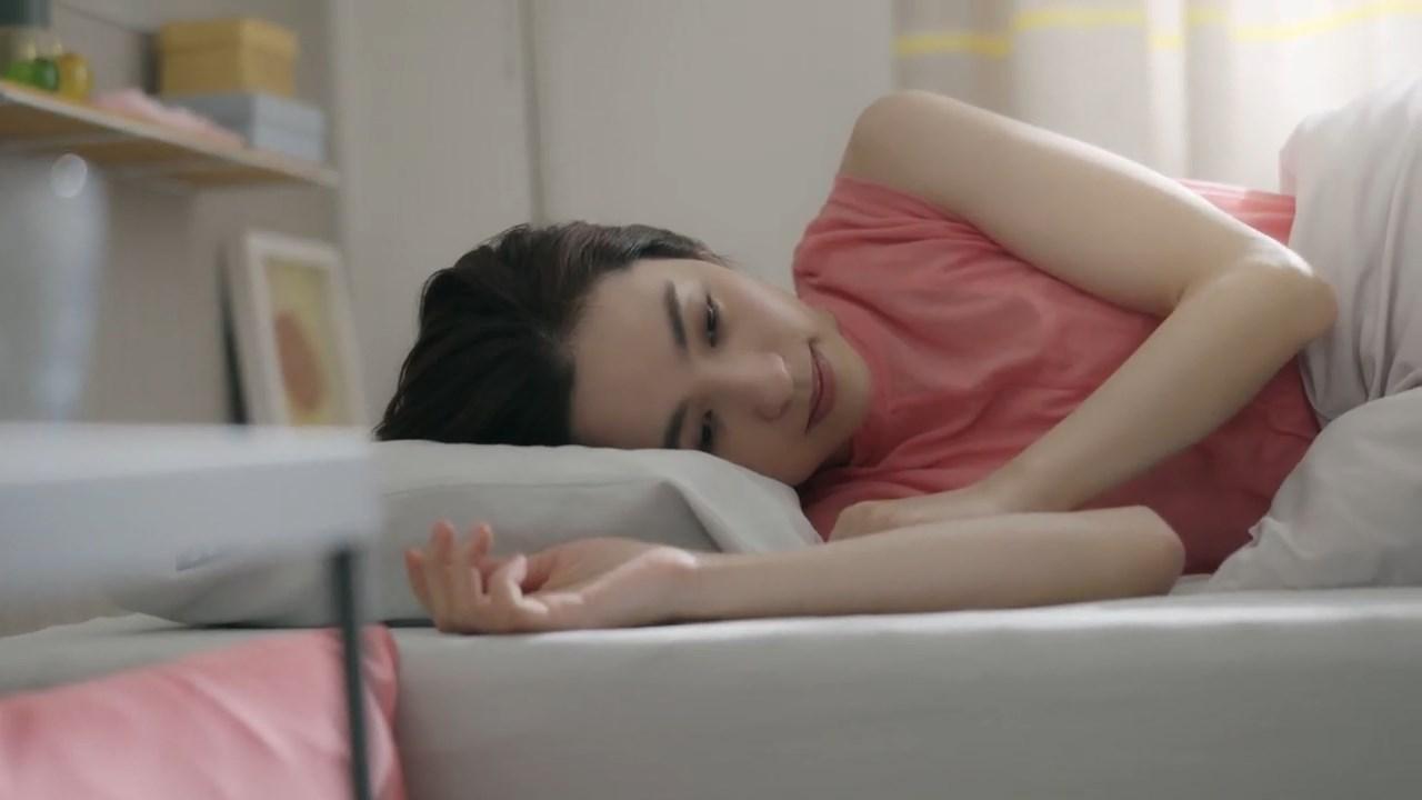 西川[エアー01]マットレス『SLEEP for Smile』中村アン