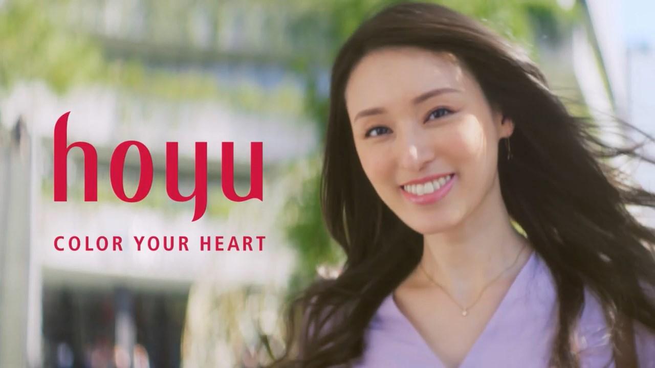 栗山千明 ホーユー シエロ デザイニングカラー TVCM「キレイを上げる篇」