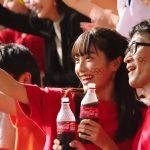 福田ルミカ コカ・コーラ 東京2020オリンピック観戦チケットキャンペーンボトル CM「チケットボトル」篇