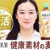 爽健美茶 健康素材の麦茶 蒼井優「動くチラシ」篇