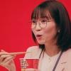 岡本夏美 MARUCHAN QTTA「全力描写 試食」篇